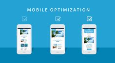 There are several ways to optimize your website for the Mobile devices which can Enhance your mobile Ranking. Here are Some of the points which you should remember for Mobile optimization. Email Templates, Seo Services, Internet Marketing, Website, Phone, Tips, Landing, Easy, Blog