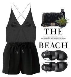 - The Beach - by lolgenie on Polyvore featuring polyvore fashion style Dion Lee Givenchy ASOS Chanel clothing