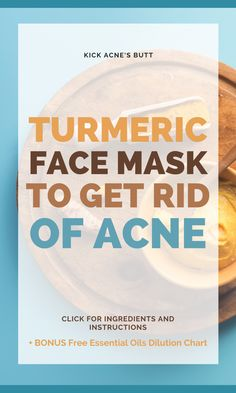 Turmeric Face Mask To Kick Acne's Butt - Pretty Blooming Best Acne Treatment, Acne Treatments, Vegan Cruelty Free Skin Care, Best Skincare Products, Skin Products, The Ordinary Acne, Facial For Dry Skin, Turmeric Face Mask, Dry Face