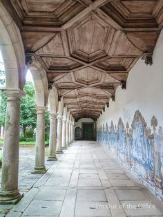 Monastery of St. Martin of Tibães  located in northern Portugal