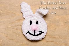 Looking for your next project? You're going to love Bunny Head Applique  by designer ThePerfectKnot. - via @Craftsy