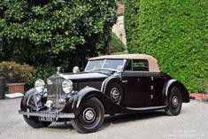1937 ROLLS-ROYCE PHANTOM lll DROPHEAD COUPE - coachwork by Carrosserie Henri Vanvooren of Paris.