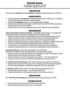 Merchandising Customer Service Resume Sample    Http://exampleresumecv.org/merchandising   Customer Service Resume Objectives