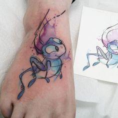 Mulan tattoo by Josi Disney Tattoos Small, Disney Sleeve Tattoos, Tattoos For Women Small, Small Tattoos, Disney Couple Tattoos, Tattoo Disney, Paar Tattoos, Leg Tattoos, Body Art Tattoos
