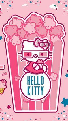 Hello Kitty 3-D #popcorn ヾ(@⌒ー⌒@)ノ