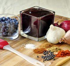 Recette facile de sauce aux bleuets pour le barbecue!
