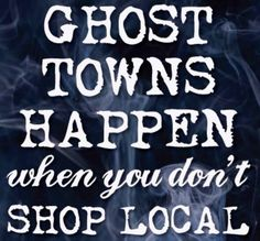 Shop Local Halloween post for Chamber's Facebook page