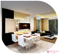 Modern #House With Adorable #Furnitures. Http://www.meublesbh.
