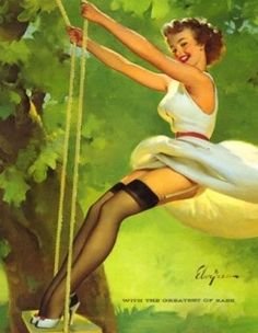 PinUP Girls By Gil ELVGREN (1914.03.15 ~ 1980.02.29)