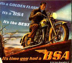 Mad Sunday Survivor : alma caferacer clubman ton-up y TT desde Triumph Bonneville Thruxton: BSA Triumph Thunderbird, Motorcycle Posters, Bobber Motorcycle, British Motorcycles, Vintage Motorcycles, Retro Bike, Bike Poster, Bike Art, Old Ads