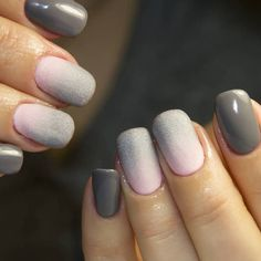 awesome 25 Pleasant Ways of Styling Ombre Nails – Pure Dose of Elegance
