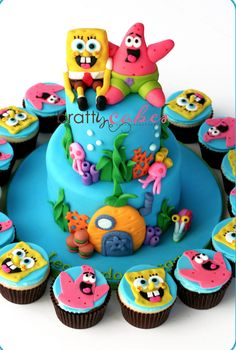 Are you planning a kids birthday party? Then why not throw a under-the-sea themed SpongeBob SquarePants party! Not only is it the highest rating Nickelodeon TV series of all time, it's an absolute favourite with little (and big!) kids.   #spongebob #birthdayparty #partyideas #decorations
