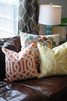 Only the throw pillows in this pin. Need More Kitchen Decorating Ideas? Go to Centophobe.com