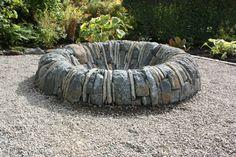 Stone Fire Pit 1
