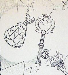 tattoo idea - Key of space time - Sailor moon manga