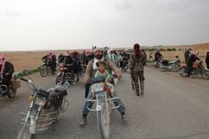 Syria: Up to 5,000 people fled to SDF-controlled areas north of Tabqa dam, near Raqqa yesterday