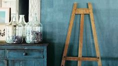DIY Ralph Lauren Paint: Denim Specialty Finish How-To Video. #RLHome