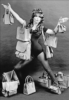 Bonnie Cashin for Coach c1960s. The original! I NEED ALL OF THESE.