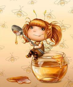 Милые феечки :) Автор иллюстраций: Lia Selina