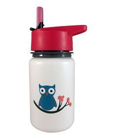 Look at this #zulilyfind! White Owl Scout Kids 13-Oz. Water Bottle by Eco Vessel #zulilyfinds