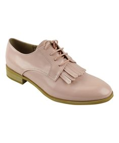Look at this Pink Fringe Fiona Oxford on #zulily today!