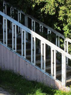 Stair rail design