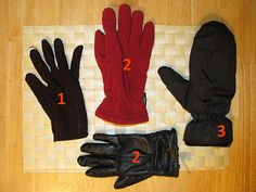 Tipos de luva Cold Weather, Winter, Gloves, Types Of, Winter Time, Cold, Winter Fashion