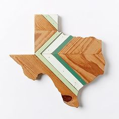 I NEED THIS! And, it is MADE in Austin, TX! It was meant to be. Hemlock & Heather Texas Wood Wall Hanging #westelm