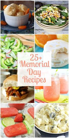 25+ Delicious Memorial Day Recipes!! A must see collection of recipes for any Memorial Day barbecue! { lilluna.com }