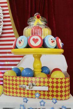 plim plim clown Birthday Party Ideas | Photo 1 of 32