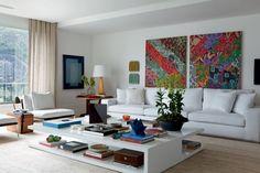 apartamento decorado quadros - Pesquisa Google