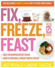 Simplify meal planning with this freezer meal cookbook! {aff.}
