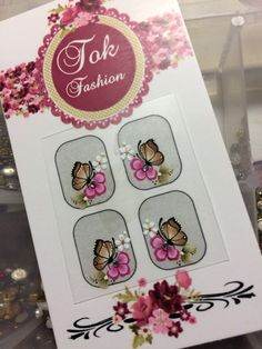 Manicure, Nails, Butterfly, Nail Art, Stickers, Nail Jewels, Adhesive, Nail Manicure, Fingernail Designs