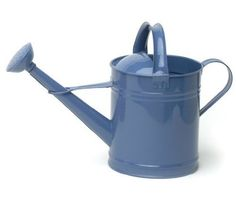 Houston International 8592E B 25Gallon Steel Watering Can Blue ** Visit the image link more details.