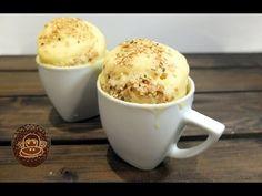 Mug cake de chocolate blanco, receta fácil