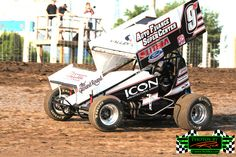 Grand Forks ND 8-15-13 #9N Auto Finance Super Center, Lithia Ford, ICON Architectural Outlaw Sprint Car of Wade Nygaard from Grand Forks ND with over 241 Feature wins in your current River Cities Speedway Outlaw Sprint points leader.