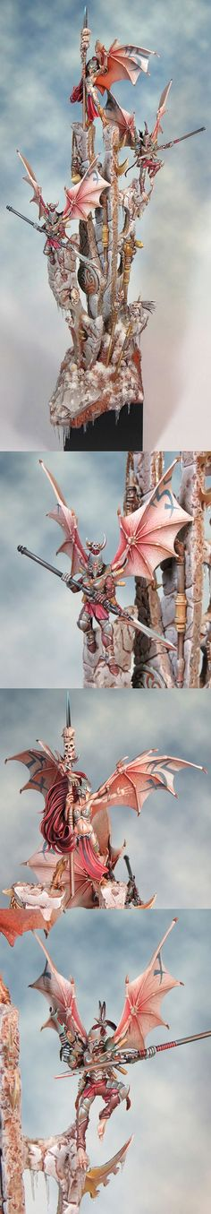Dark Eldar Scourge Diorama winner of the Slayer Sword at GDUK 2013