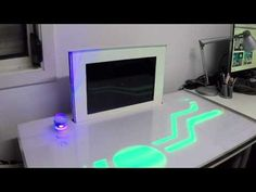 Project: PiDesk – A Raspberry Pi controlled, futuristic desk #piday #raspberrypi @Raspberry_Pi « Adafruit Industries – Makers, hackers, artists, designers and engineers!