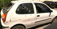 Policiais deram mais de 100 tiros em carros de jovens mortos no Rio