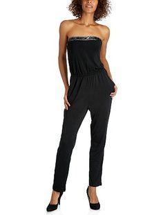 Combinaison bustier bijoux Kiabi Jumpsuit, Womens Fashion, Dresses, Outfits For Women, Strapless Gown, Fashion Ideas, Catsuit, Gowns, Playsuit