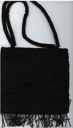 Black beaded formal purse by CCIWorld on Etsy, $10.00  #Guatemala #orphans #internationaladoption