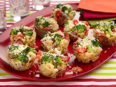 Baked Macaroni and Cheese Cupcakes Recipe : Giada De Laurentiis : Food Network - FoodNetwork.com