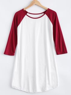 GET $50 NOW | Join Zaful: Get YOUR $50 NOW!http://m.zaful.com/raglan-sleeve-color-block-t-shirt-dress-p_209871.html?seid=1539626zf209871