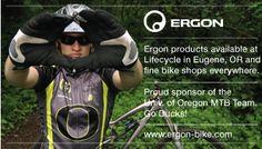 Ergon Sponsors University of Oregon MTB team. #nationalbrand