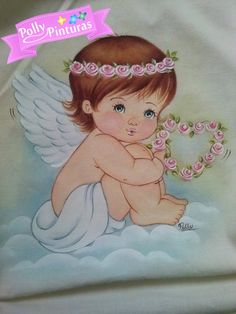 Angel Images, Angel Pictures, Cute Pictures, Baby Painting, Fabric Painting, Coloring Books, Coloring Pages, Stencil Patterns, Precious Children