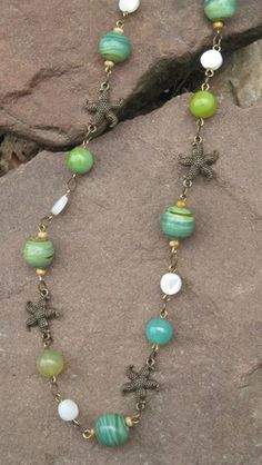 Nautical necklace (Customer Design) - Lima Beads