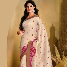 Looking for latest designer party wear sarees or traditional party wear sarees? Shop online from the party saree collection at Utsav Fashion for fancy party sarees. Party Wear Sarees Online, Party Sarees, Indian Fashion, Women's Fashion, Fancy Party, Bindi, Saree Collection, Kimono Top, Creativity