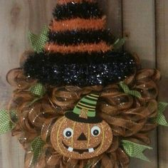 Pumpkin witchy Wreath
