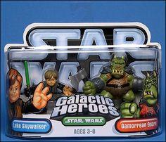 Star Wars: Galactic Heroes Luke Skywalker and Gamorrean Guard by Hasbro