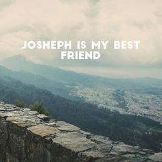 He is my best friend